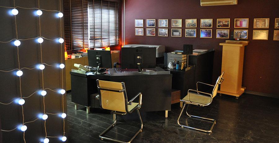 Diseño de muebles de oficina a medida